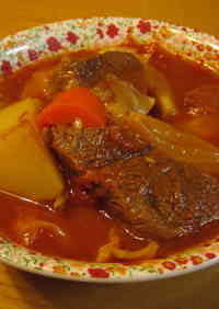 Easy Borscht with Tender Beef
