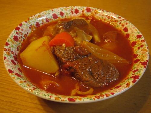 Easy Borscht with Tender Beef