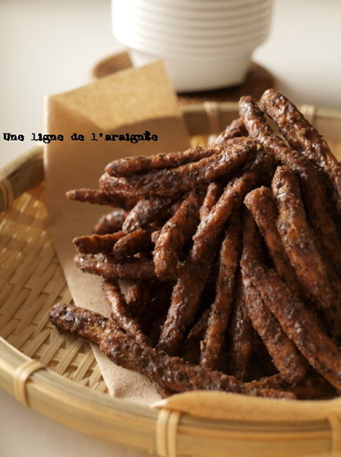 Brown Sugar Karintou (Sweet Deep-Fried Brown Sugar Snacks)