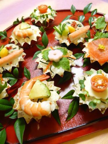 Cute One-Bite Sushi