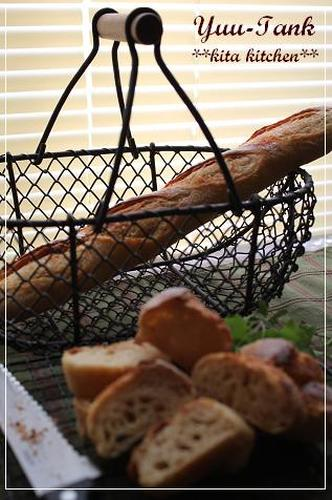 Soy Sauce Baguette (Kneaded with a Spatula)