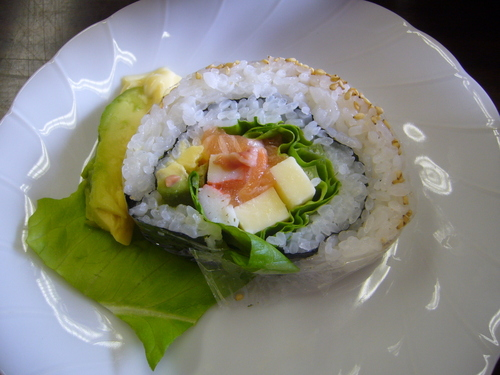 Japanese-Style California Roll