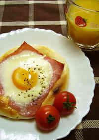 Easy! Breakfast Bacon and Egg Bread