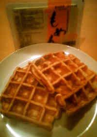 Chewy Tofu Waffles
