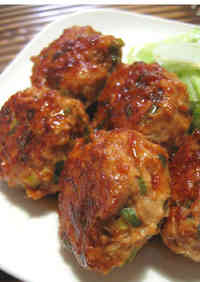 Ginger Fried Pork Meatballs