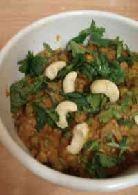 Vegan Friendly Nuts and Mushroom Curry