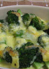 Too Easy! Broccoli and Mayonnaise Bake