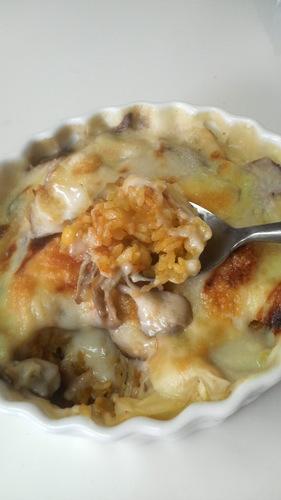 Mushroom and Sweet Potato Creamy Doria