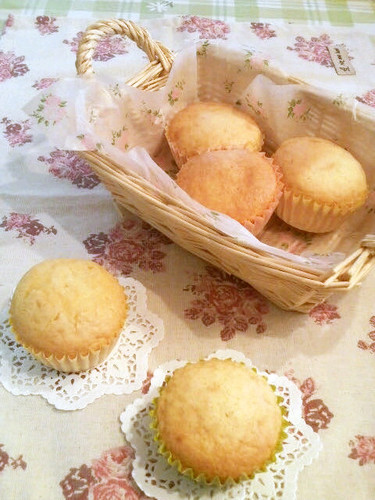 Muffins Made Easily with Pancake Mix and Heavy Cream