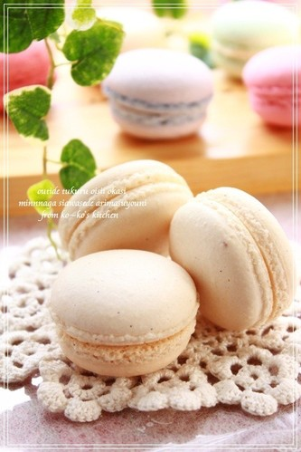 My Vanilla Macarons a la Parisienne