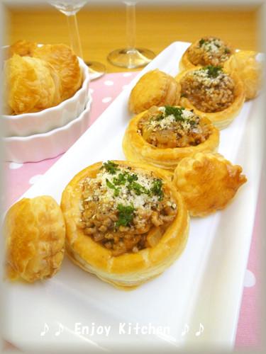 Creamy Mashed Potato & Meat Pies
