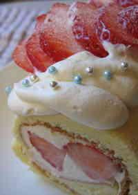 One-Egg Swiss Roll Cake, Christmas Version