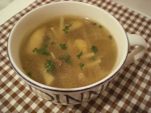 My Simple Mushroom Soup