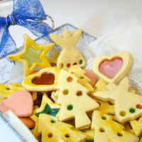 Sparkling Cute Stained Glass Cookies