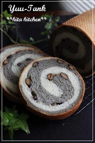 Black Bean & Black Sesame Cream Bread
