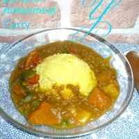 Kabocha & Ground Meat Japanese Curry
