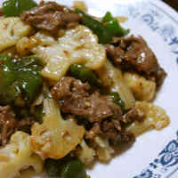 Chinese-style Stir-fried Cauliflower