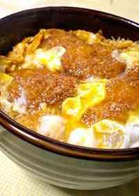 Single-Serving Fried Pork Cutlet Rice Bowl