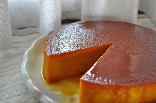 Caramel Kabocha Squash Pudding