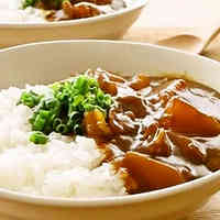 Daikon Radish and Pork Belly Curry Rice