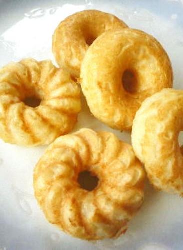Baked Okara Donuts in a Donut Maker