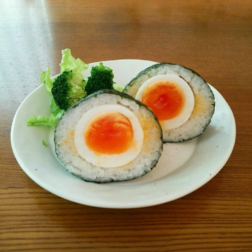 Boiled Eggs with Salt-flavored Yolks