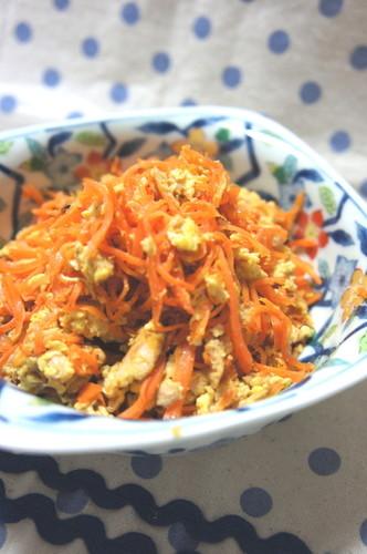 My Family's Carrot Shirishiri (an Okinawan Dish)