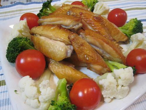 15 Minute Roast Chicken Wings