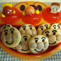 Egg Allergy Safe! Anpanman Cookies