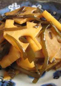 Tsukudani with Lotus Root Leftover Dashi Kombu [Macrobiotic]