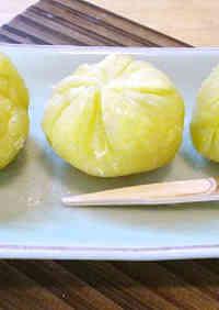 Easy Osechi Microwaved Kuri Kinton (Chestnut Paste)